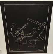 George Luttrell New Orleans Jazz Limited Edition Lithograph 3