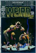 Bernie Wrightson Color Guide Art Weird 1 Cover Dc 100-page Super Spectacular 4
