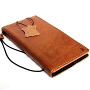Genuine Vintage Leather Case Fit Apple Iphone 6s Plus Book Wallet Cover Bible Il
