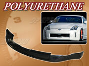 For 06-09 Nissan 350z T-ing Poly Urethane Pu Front Bumper Lip Spoiler Body Kit