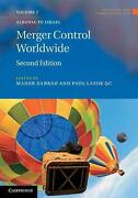 Merger Control Worldwide 2 Volume Set By Maher M Dabbah English Hardcover Book
