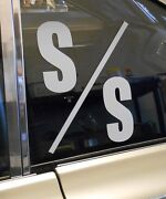 S/s Drag Racing Class Window Decal Gasser Super Stock Fits Dodge Chevy Ford