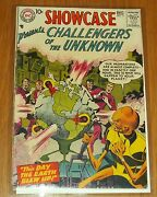 Showcase 11 Vg 4.0 December 1957 Challengers Of The Unknown Dc Comics