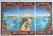 Grateful Dead Mike Dubois Poster Chicago 56 Of 2015 Number Edition Low Number
