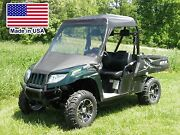 Vinyl Windshield And Roof For Arctic Cat Prowler - Top - Canopy - Commercial