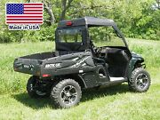 Mini Cab Enclosure For Arctic Cat Prowler - Hard Windshield, Roof And Rear Window
