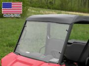 Hard Windshield And Roof For Polaris Ranger 570 Mid Size - Canopy - Commercial