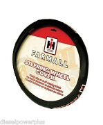 Ih International Harvester Tractor Farmall Steering Wheel Cover Leather Grip