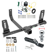 Trailer Tow Hitch For 10-15 Mercedes-benz Glk350 Complete Pkg Wiring 1-7/8 Ball
