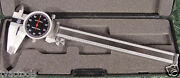 6 Sae Stainless Steel Dial Caliper With Case Brand New Digital Mic Inch