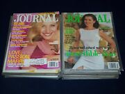 1990s-2000s Ladies Home Journal Magazine Lot Of 22 - Great Covers And Photo- O 711