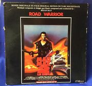 Vintage 1982 Mad Max 2movie Soundtrack Lp Mel Gibson Brian May Italian Release
