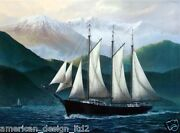Pete Peterson Coasting Northwest Hand Signed Fine Art Giclee Canvas Boat