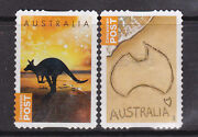 2014 Concession Booklet Stamps - Set Of 2 Used Stamps