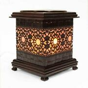 Asian Floral Suns Electric Scented Oil Burner/warmer Night Light Lamp Oa255
