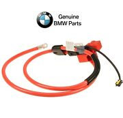 For Bmw E60 Battery Cable Positive Battery Terminal To Under Floor Cable Genuine