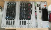 Siemens Simatic 505 Plc Rack W/power Supply And Cards W/ Simatic 545 Very Nice
