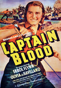 2283.captain Blood Warners Bros Art Decoration Poster.home Graphic Design.