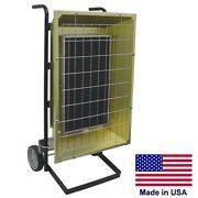 Portable Infrared Heater - 480 Volts - 14,672 Btu - 1 Or 3 Phase - Prewired