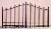 Driveway Gate Steel 11and039 Or 12and039 Wd Inc Post Pkg Home Security