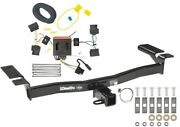 Trailer Tow Hitch For 07-10 Lincoln Mkx Ford Edge Except Sport W/ Wiring Harness