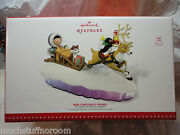 Hallmark 2015 Here Come Frosty Friends Mantelscape Christmas Table Decoration Nu