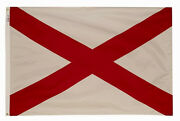 3x5 Ft Alabama The Heart Of Dixie Official State Flag Outdoor Nylon Made In Usa