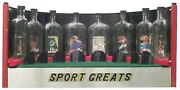 An Extraordinary Collection Assemblage And Display Of Eight Bottle Whimseys.