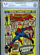 Amazing Spider-man 121 Cbcs 9.0 Vf/nm 1973 Marvel Death Of Gwen Stacy B5