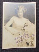 1930and039s Marie Prevost Autographed Picture Vg+ 5x7 Early Movie Actress