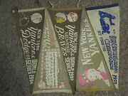 Ny Yankees Pennant Collection 1950-2004. Sixty Six World Series Etc.