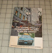 1960s/70s Central Canada Travel Brochure - Ontario And Quebec - Nice