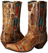 New In Box Johnny Ringo Womens Whitley Boot Tan Size 8.5 B Us Stunning Jr922-76t