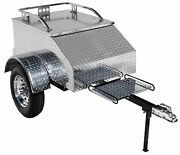 Motorcycle Trailer Touring Cargo Pull Behind For Goldwing Can Am Spyder And More