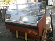 Bakery/bread Etc Show Case Curved Glass Lighted Dry Case 900 Items On E Bay