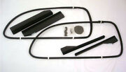 1937 1938 1939 Ford Tudor Sedan And Club Coupe Front Window Channel Kit Both Doors