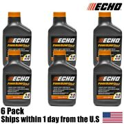6 Pack Echo Oil 6.4 Oz Bottles 2 Cycle Mix For 2.5 Gallon – Power Blend 6450025g