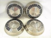 Chrysler Plymouth Dodge Hubcaps Dog Dish 1962 1963 1964 1965 1966 1967 1968 1969