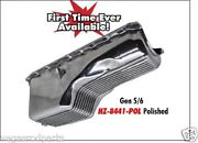 1991 Up Chevy Bb 454-502 Aluminum Polished 1 Pc Rear Main Seal - Gen 5-6 Oil Pan