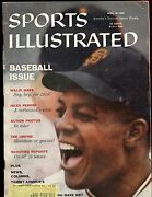 April 13 1959 Sports Illustrated Magazine Willie Mays Sf Giants Front Cover Vg