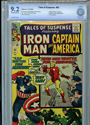 Tales Of Suspence 60 Silver Age Marvel Comics Cbcs 9.2 Nm- 1964 2nd Hawkeye