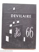 1966 West Point High School Yearbook West Point Georgia The Devilaire