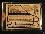 1979-80 Topps Hockey Bruins + Wacky Packages Proof