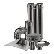 Vent Heater Kit - 4 Vertical - Steel - 90 Degree Angle - Made In The Usa