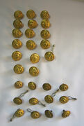 N.s. Meyer Waterbury And Wc 1812 Military Coat And Uniform Vintage Buttons Lot  T