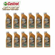 12 Liters 10w60 Synthetic Motor Oil For Bmw M3 M5 M6 Castrol Edge Supercar