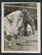 1922 Babe Ruth Vintage Baseball Photo Picks Out His Weapon