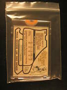 1979 Topps Hk Wacky Packages Paste-up Woods Red Wings