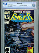 The Punisher 1 Cbcs 9.4 Nm 1986 1 In 4 Part Series Marvel Comics B18