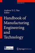 Handbook Of Manufacturing Engineering And Technology English Hardcover Book Fr